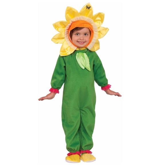 sunflower toddler girls halloween costume 3t 4t